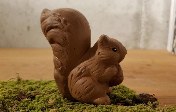 Eichhörnchen verziert